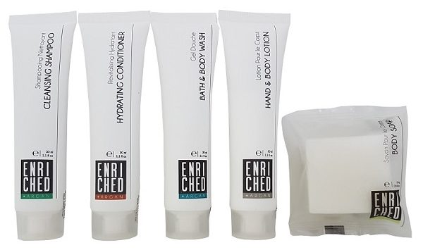 Enriched samples mini toiletries