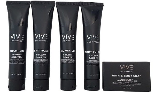 Vive samples mini toiletries