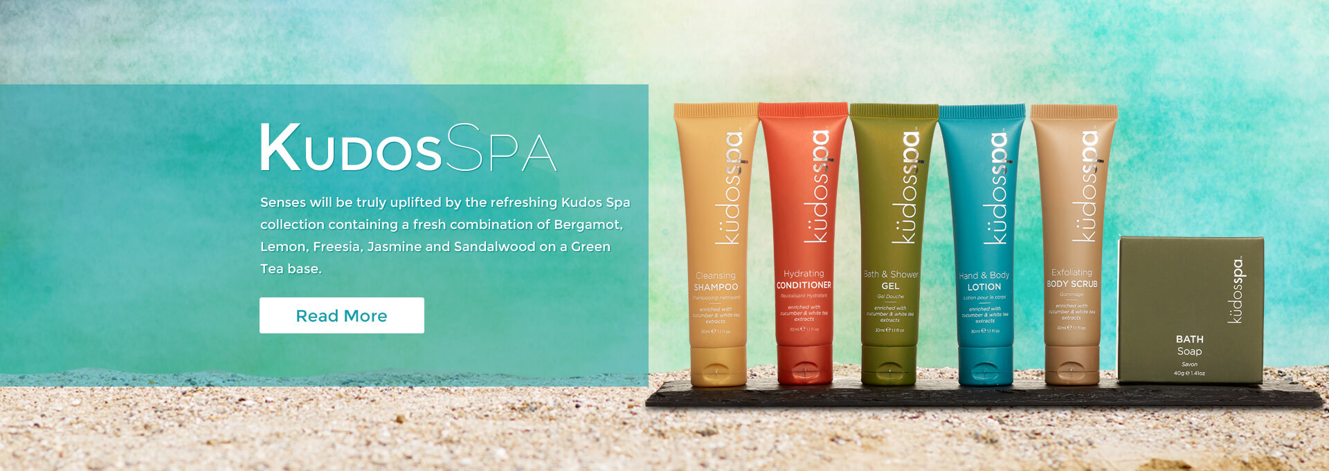 kudos spa toiletries
