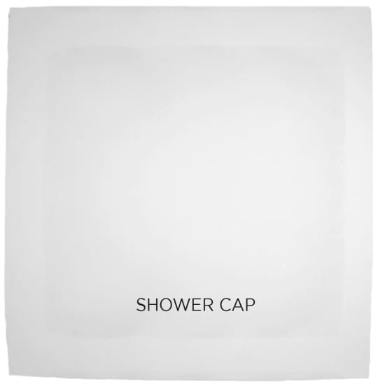 sachet shower cap