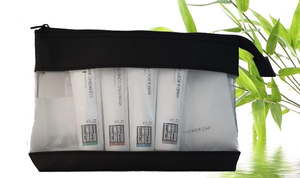 Toiletry Packs from hotel supplier