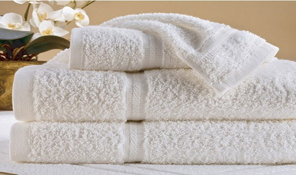 Platinum Dobby Border Towels